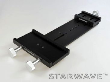 "Starwave Dual Losmandy-format 3"" side by side dovetail bar kit (one vixen)  (265mm OTA separation)"